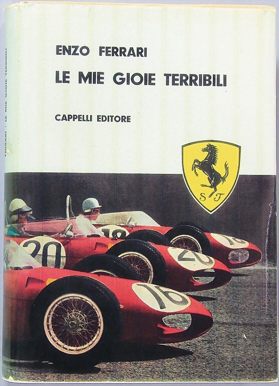 "book: Enzo Ferrari ""Le Miegioie terribili"" Capelli Edit"
