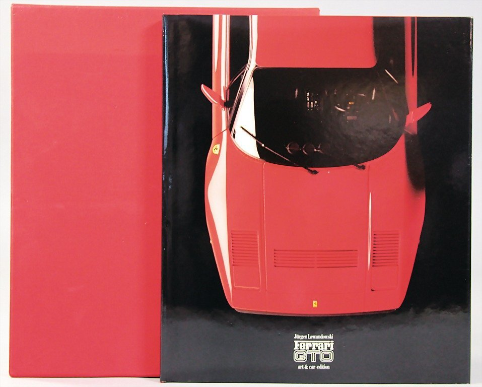 "book: ""Art & Car"", by Jürgen Lewandowski, Ferrari GTO,"
