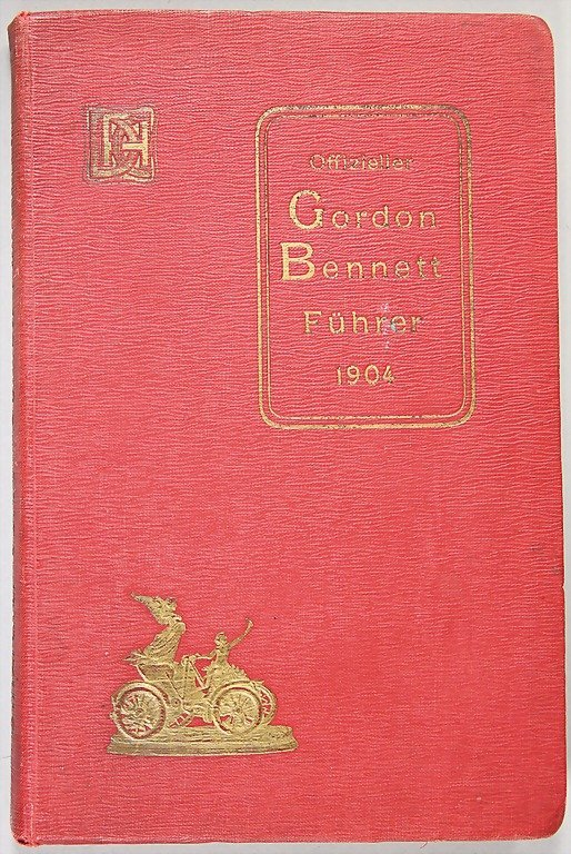 official Gordon Bennett Führer 1904, more than 250 page
