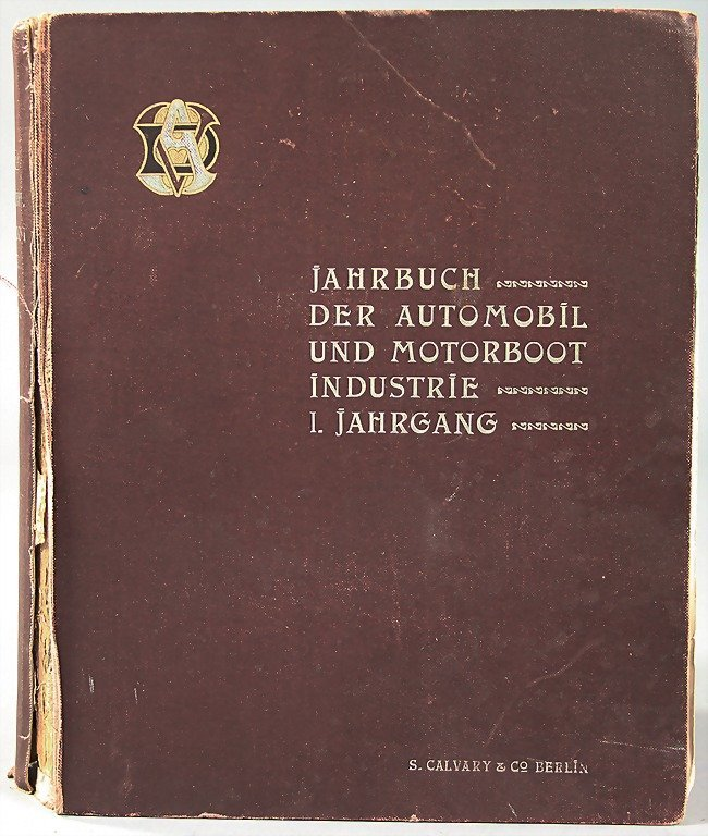 yearbook of the automobile  and motorboat industrial, 1