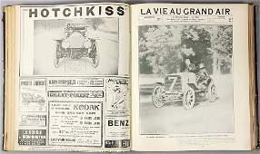 La Vie au Grand Air year 1904 bound 2nd half yearly