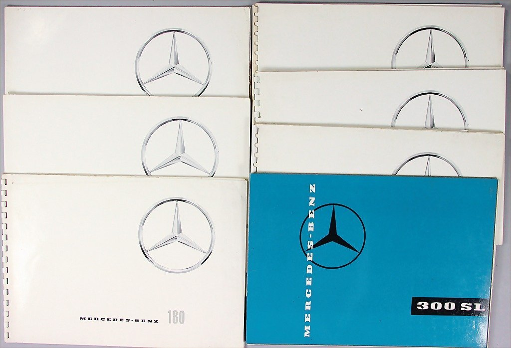 MERCEDES-BENZ, mixed lot of 7 sales catalogs, No. 1: 19