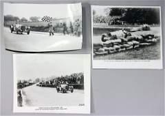 MERCEDES-BENZ, type SS, 3 original B/W press photos, Ca