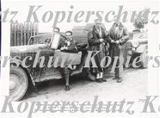 MERCEDES-BENZ, original B/W press photo, East Prussia j
