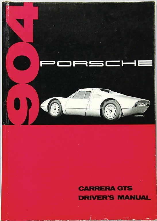 PORSCHE, December 1963, Driver's manual, Porsche Carrer