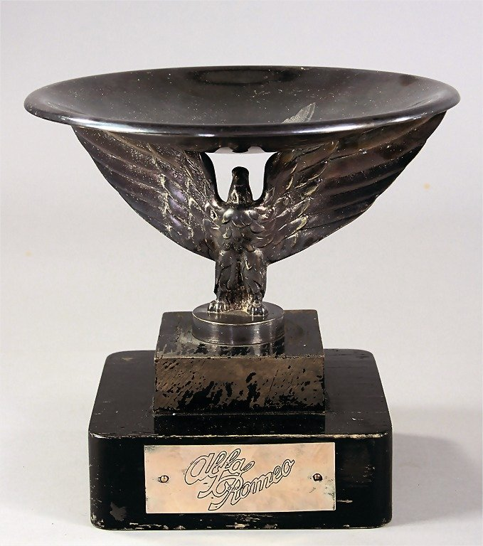 "GIUSEPPE CAMPARI, early '30s honorary cup with badge ""A"