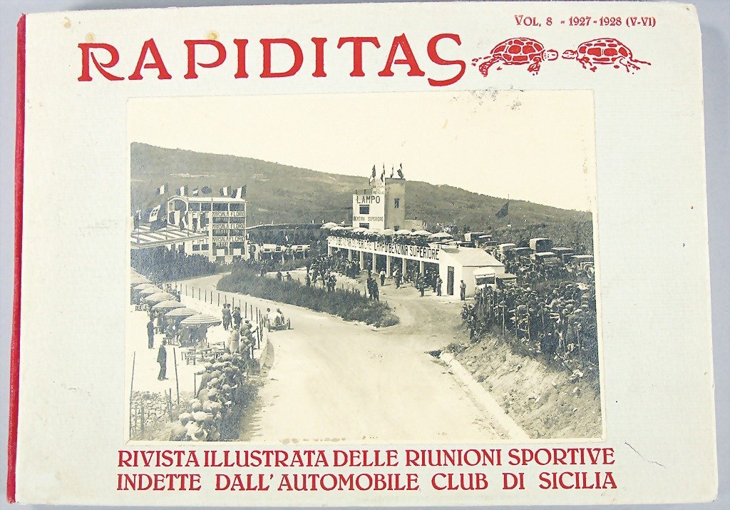 RAPIDITAS, Vol 8 1927-1928 (V-VI), (at the racing in 19