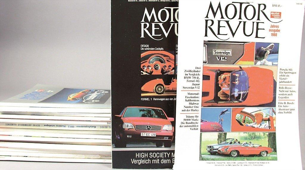 mixed lot of magazines, 16tlg., among them