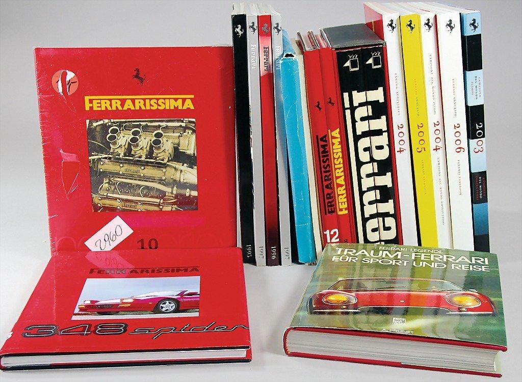 """FERRARI , extensive mixed lot: reprint """"Il Quattro Anno"""