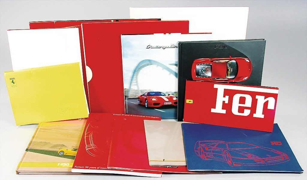 FERRARI, high-quality mixed lot, all in all 30 pieces.,