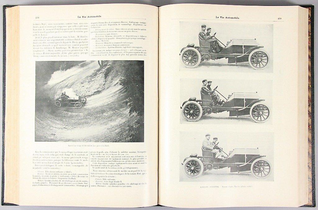 La Vie Automobile, year 1905, complete, bound, good