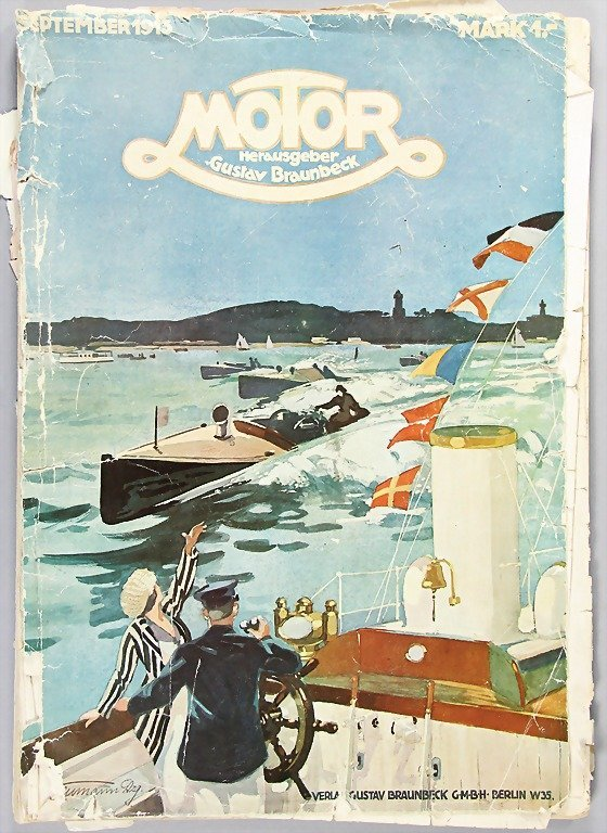 "magazine ""Motor"", edition September 1913, complete,"