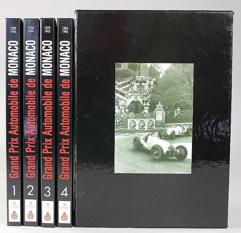 """book: """"Grand Prix Automobile de Monaco"""" in 4 volumes"""