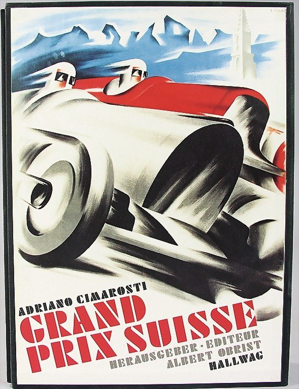 """book: """"Grand Prix Suisse"""" by Cimarosti, from 1992,"""