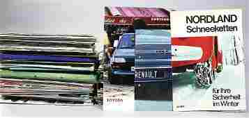 large mixed lot/dealer mixed lot of sale documents,