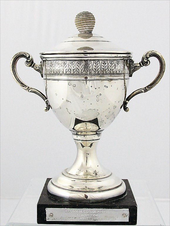 BENOIT MUSY/MASERATI, 1954, winner's cup Course de Cote