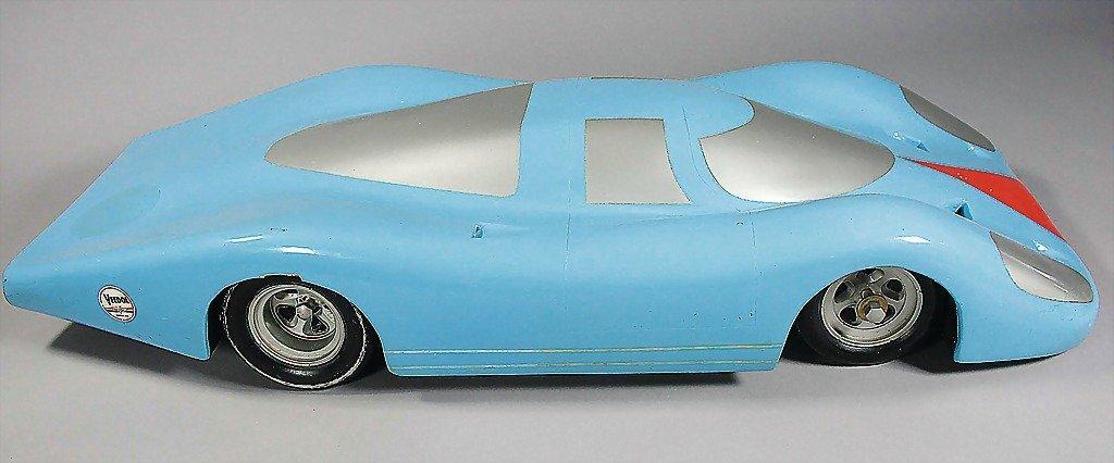 PORSCHE, c. 1968, wind tunnel model/design study,