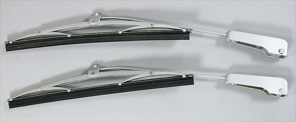 PORSCHE/ SWF, a pair of wiper arms, 1954-55, Porsche