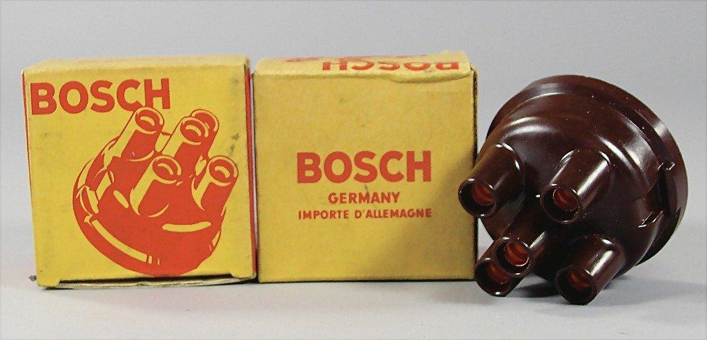 PORSCHE/BOSCH, a pair of distributor caps 356 Carrera