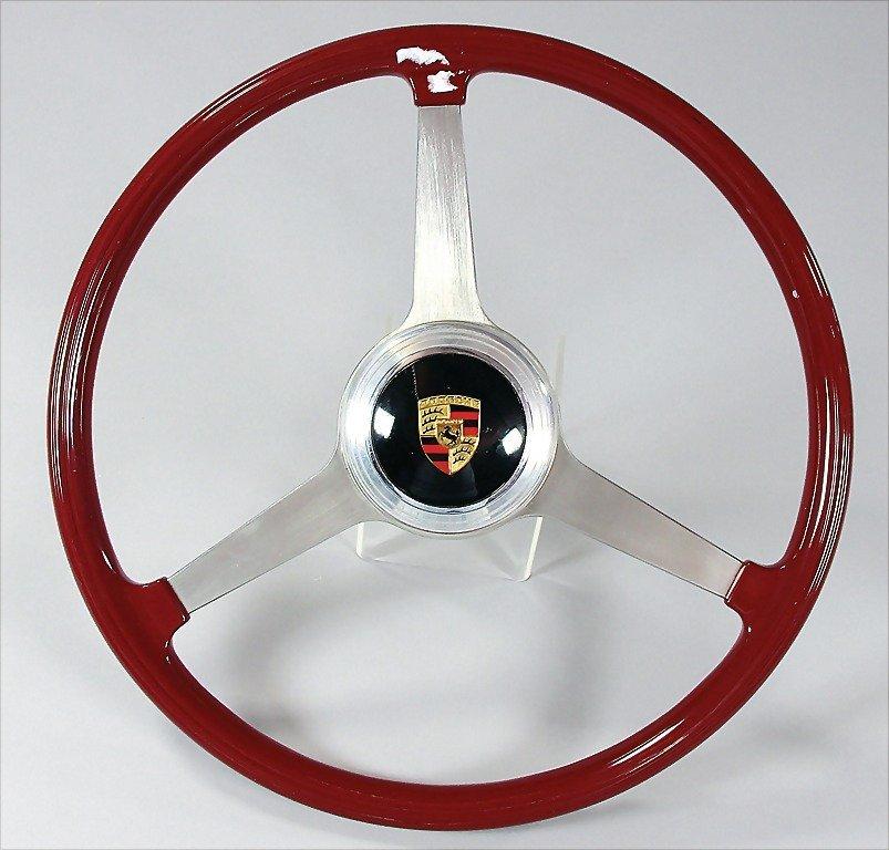 PORSCHE/ VDM, 1962, original racing steering wheel,