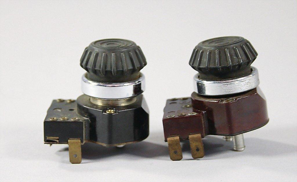 PORSCHE/ VDO , 2 original windshield wiper switch, with