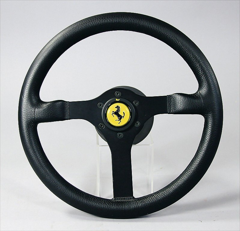 FERRARI/MOMO, steering wheel Ferrari type F40, back