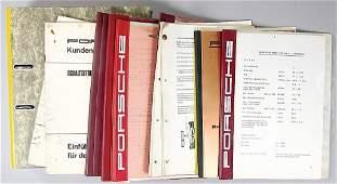 Porsche, customer service informations, many files /