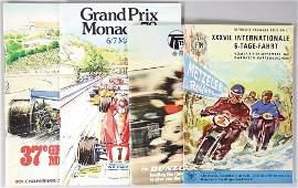 mixed lot of programmes, 4 pieces, No. 1: XXXVII.
