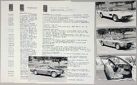 MONTEVERDI 1977 press report with price list