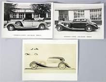 ERDMANN & ROSSI 3 original B/W press photos Maybach W38