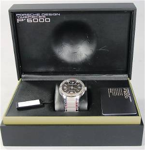 PORSCHE men's watch automatic mechanism by Porsche desi