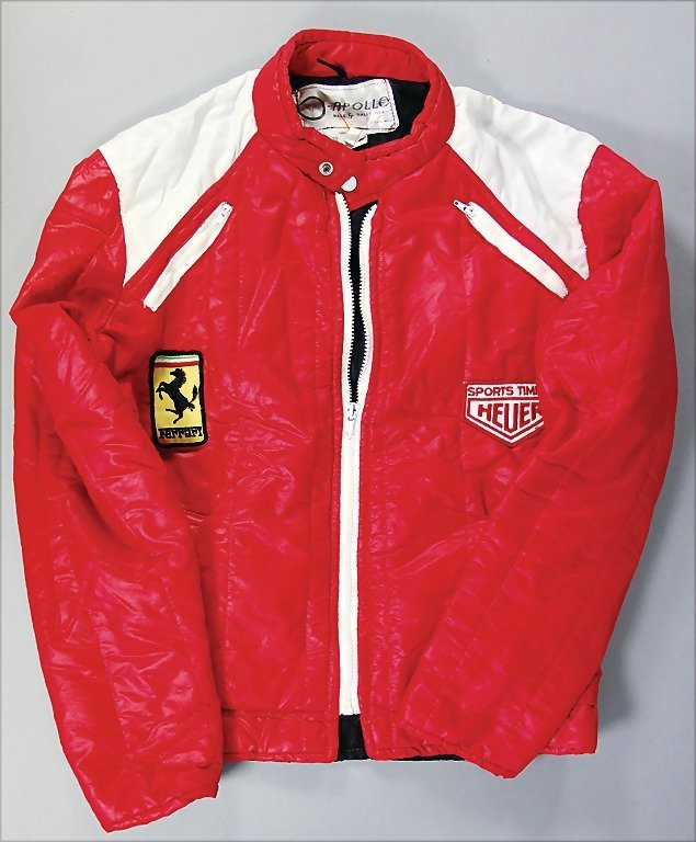 FERRARI/HEUER racing jacket, manufacturer Apollo Race &