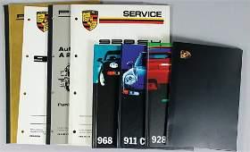 PORSCHE mixed lot 8 pieces, No. 1: Porsche 928 assembly