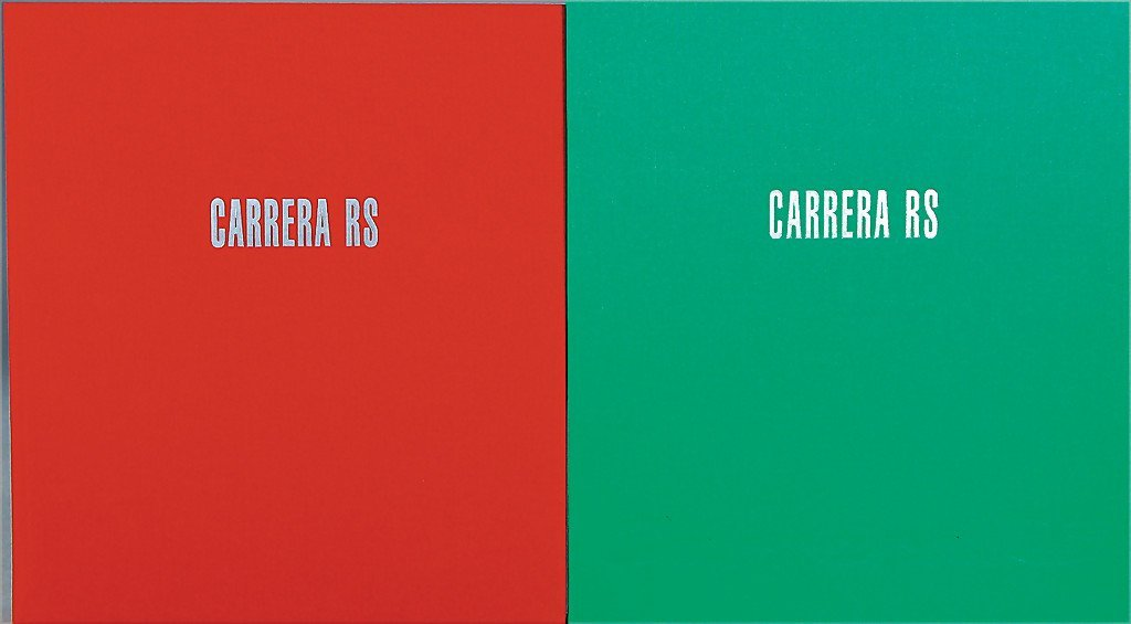 """PORSCHE book: """"Carrera RS"""", published by Dr. Thomas"""