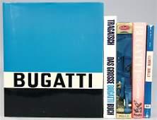 """BUGATTI 5 books, No. 1: """"Ettore Bugatti portrait of a"""