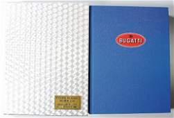 "book: ""Bugatti"" by Conway/Sauzay, 1st edition 1989,"