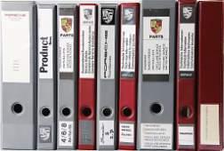 PORSCHE 9 files, early '70s till c. 2005, e.g.
