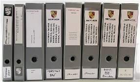 PORSCHE 8 files manual technique/service information