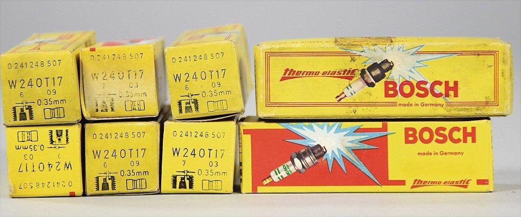 PORSCHE 550/718 RSK, complete set of spark plugs, 8