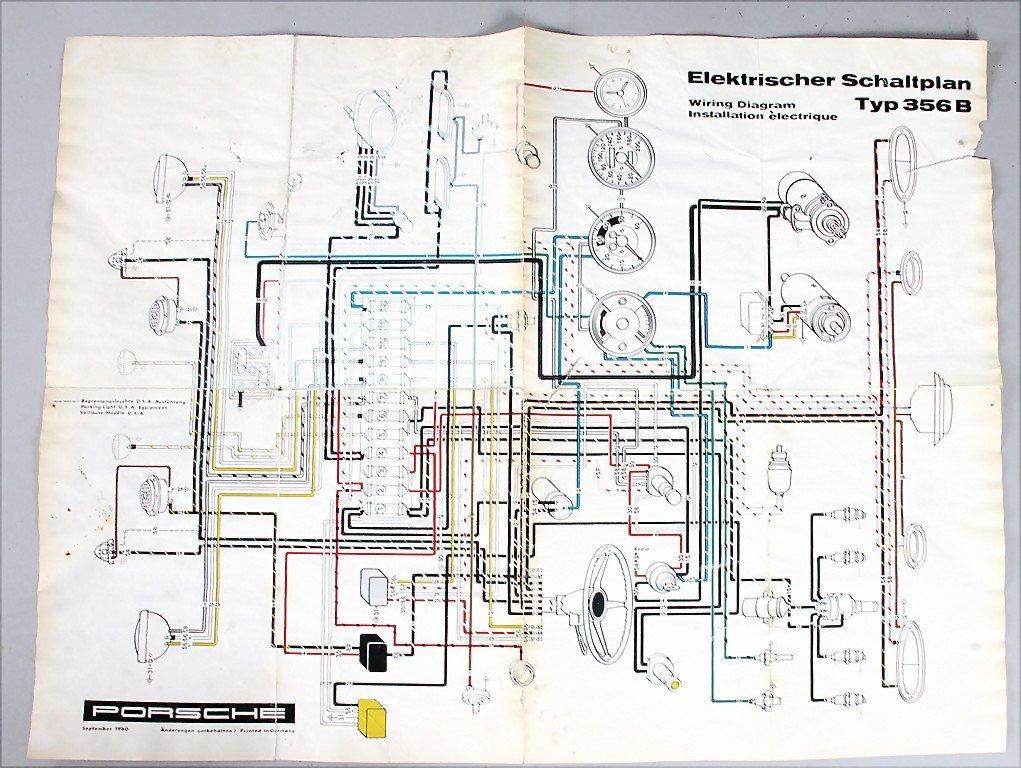 porsche 356 pre a wiring diagram annavernon 356b wiring diagram images