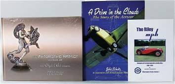 "mixed lot of 3 books, No. 1: ""The Automotive Mascot"