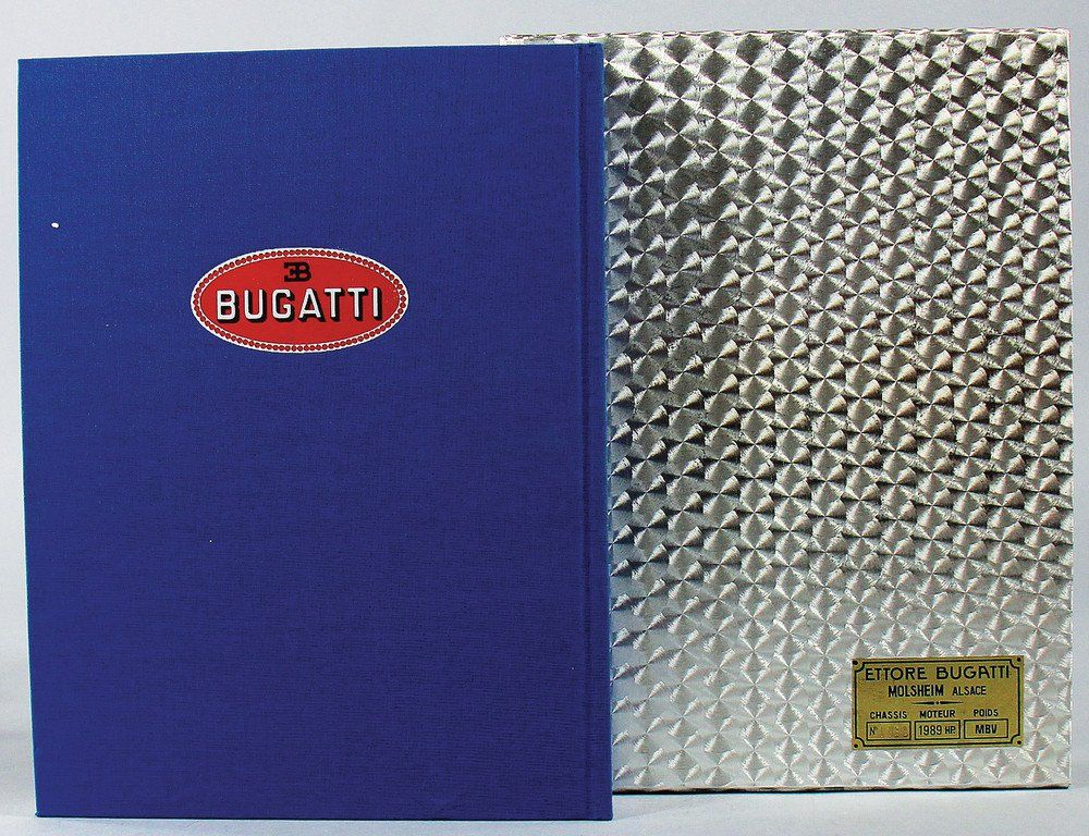 """book """"Bugatti"""", by Conway/Sauzay, published in the"""
