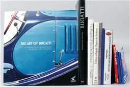 """BUGATTI mixed lot of 11 books, """"Bugatti: Die"""