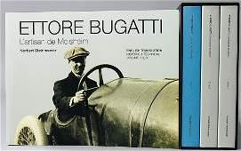 """BUGATTI book """"Ettore Bugatti: L´Artisan de Molsheim"""","""