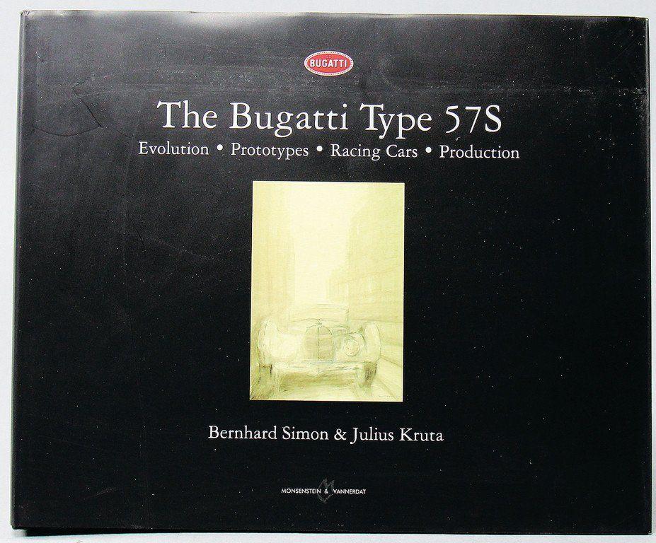 """BUGATTI book """"The Bugatti Type 57 S"""", by Simon/Kruta,"""