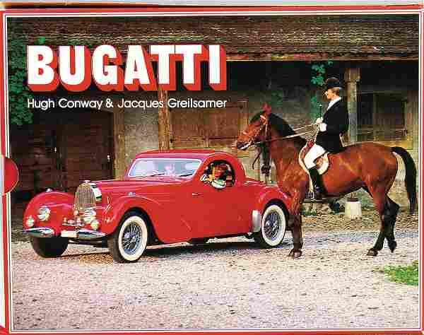 """BUGATTI book: """"Bugatti: L'histoire Illustre des"""