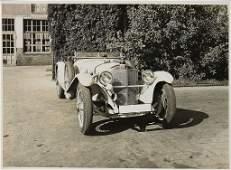 MERCEDES-BENZ original B/W press photo of a type SF, on