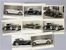 MERCEDES-BENZ 8 original B/W factory press photos of