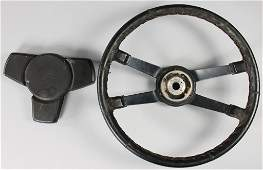 PORSCHE leather steering wheel for 911 F-model, stamped
