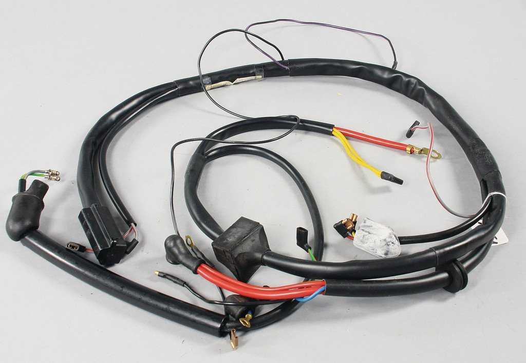 Tremendous Porsche Engine Wiring Harness Porsche Headlights Porsche License Wiring Digital Resources Indicompassionincorg